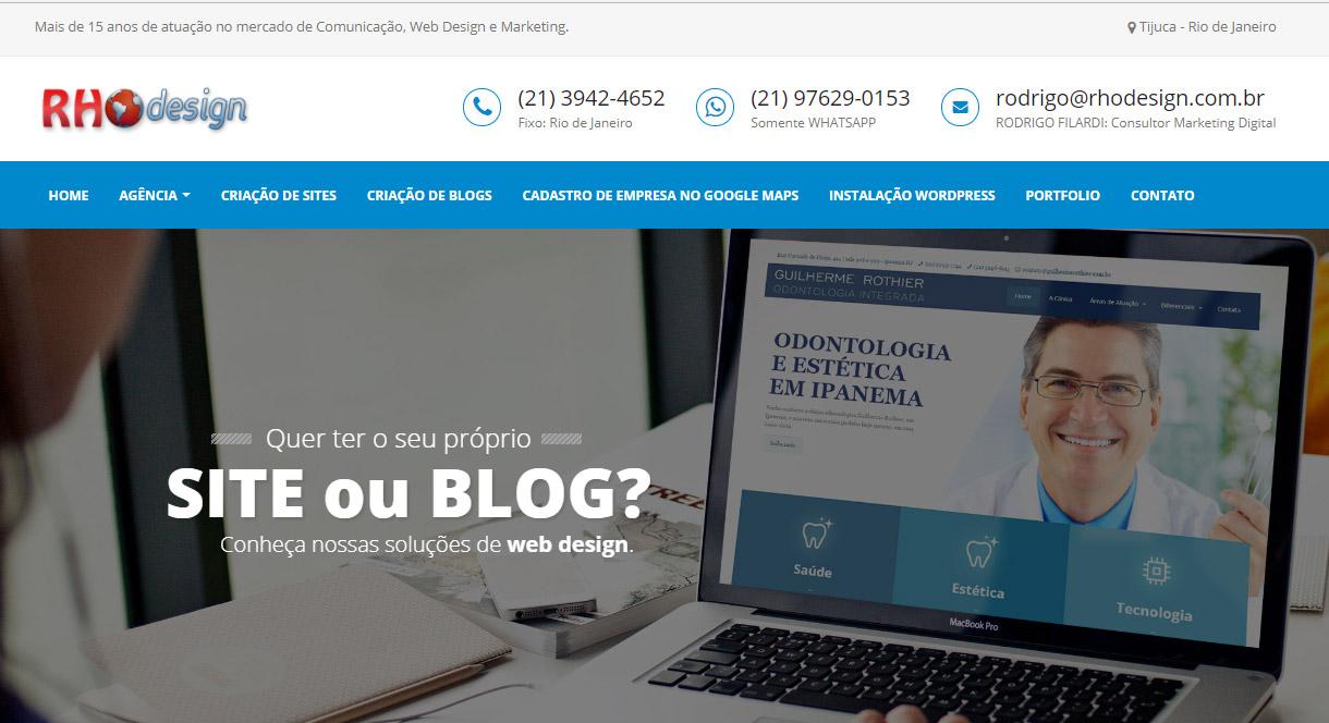 Criação de Site Profissional em WordPress na Tijuca, Grajaú, Maracanã